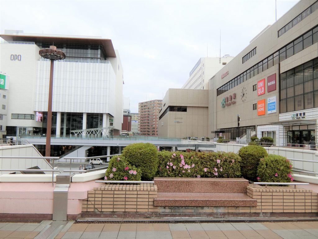「高崎」西口駅前
