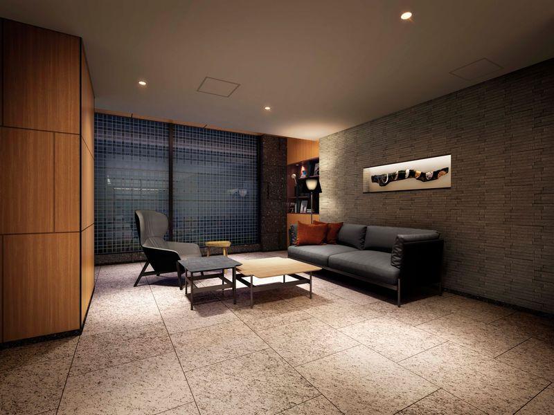 「ザ・パークハウス 板橋大山」のホール完成予想図