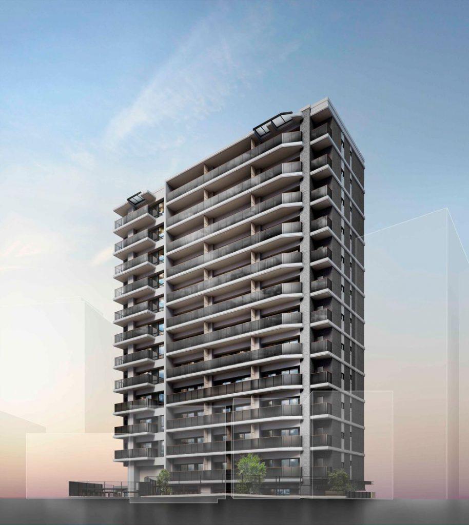 「ザ・パークハウス-板橋大山」の完成予想パース