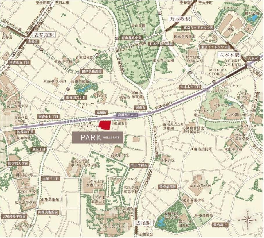 計画地案内図