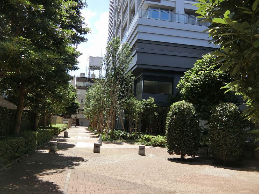 シティタワー武蔵小山の周辺の街路