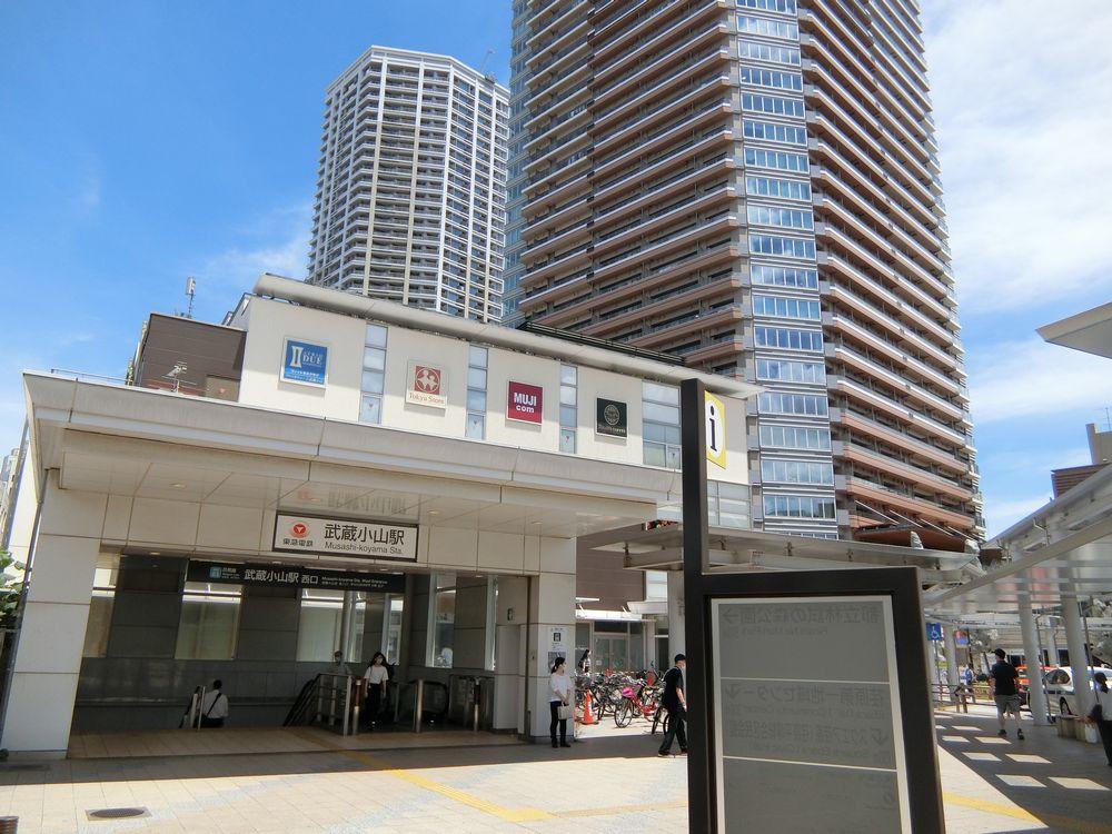 武蔵小山駅前とシティタワー武蔵小山