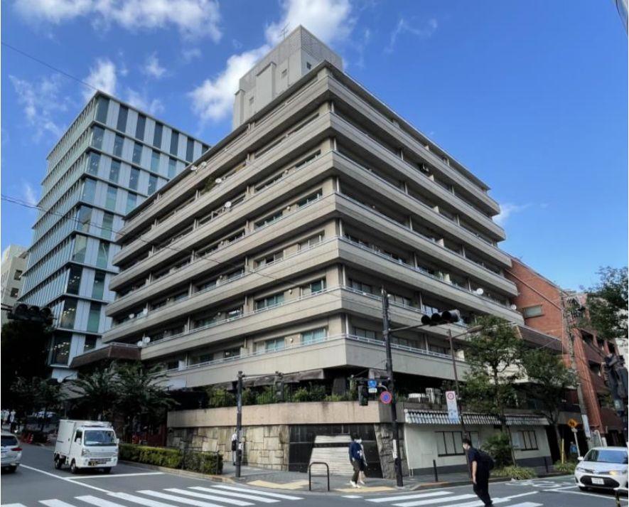 麹町山王マンション外観(2021 年10 月現在)